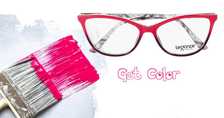Coleção Get Color: quando sua vida pede mais cor.